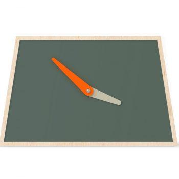 what-the-clock-grijs-groen-neon-orange-stone-grey